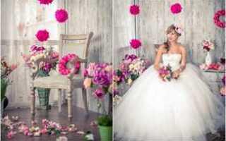 Как украсить комнату невесты: фото и видео уроки