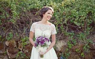 Модные свадебные платья в стиле «винтаж»: история и современность