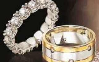 Помолвочное кольцо после свадьбы, можно ли носить?