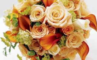Свадебный букет из калл – лучшие варианты и сочетания