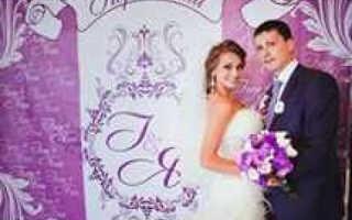 Баннер на свадьбу для фото, как выбрать и чем заменить