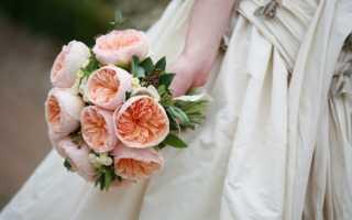 Как выбрать красивый букет невесты из пионовидных роз