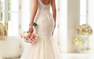 Элегантные свадебные платья с открытой спиной – выбор по всем правилам