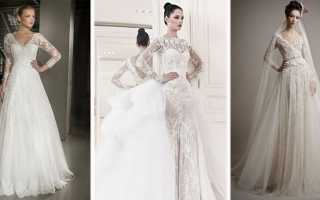 Пышные свадебные платья