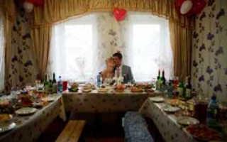 Свадьба дома – примерное меню с рецептами