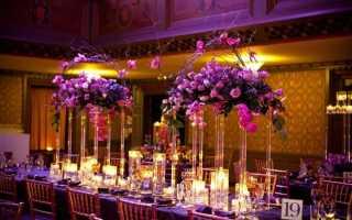 План по оформлению свадьбы в сиреневом цвете: основные моменты