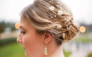 Особенности свадебных причесок с собранными волосами