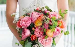 Свадебный букет из ранункулюсов – выбор невесты со вкусом