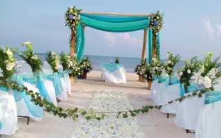 Стильное оформление свадьбы в голубом цвете: подробная инструкция
