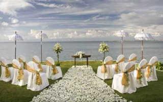 Оформление свадебной церемонии — простые и эффектные идеи