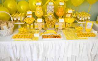 Как сделать свадьбу в желтом цвете: все секреты оформления и декора