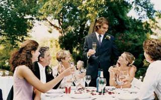 Слова гостям на свадьбе от молодых