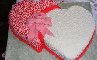 Торт на 1 год свадьбы: купить или приготовить?