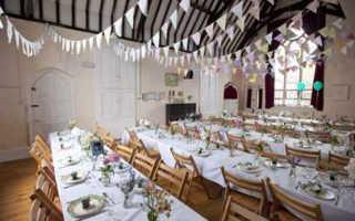 Секреты и свежие идеи как украсить банкетный зал на свадьбу
