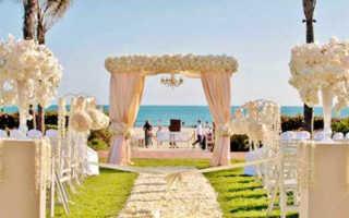 Украшение свадьбы бумажными цветами — фотоуроки и видеосоветы