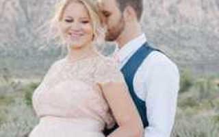 Свадьба для беременной — как организовать без вреда для ребенка