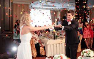 Этапы свадебного банкета — соблюдаем этикет
