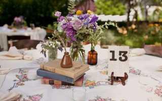 Советы по оформлению свадьбы в стиле «ретро» – самые лучшие идеи