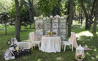 Модная фотозона на свадьбу – 5 лучших идей оформления