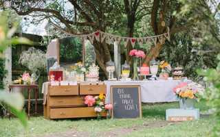 Как правильно оформить свадьбу в деревенском стиле