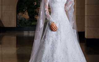 Тонкости выбора свадебного платья с закрытым верхом