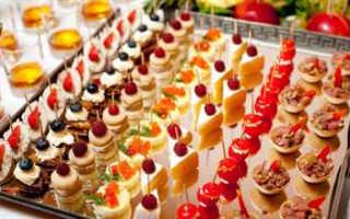 Меню на свадьбу на человека: расчет закусок, алкоголя и сладкого
