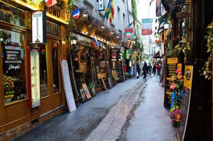 Париж: Латинский квартал