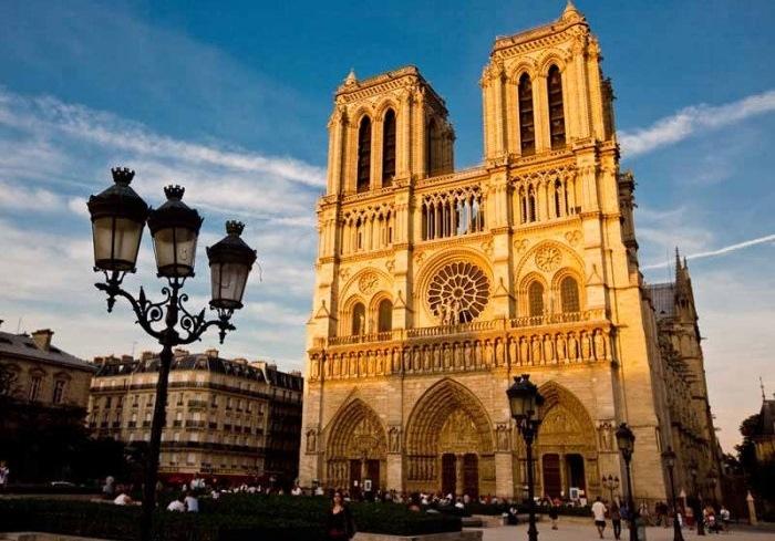 Париж: Собор Парижской Богоматери