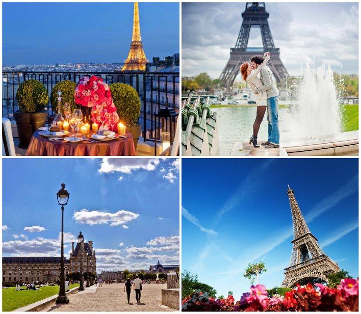 Франция во время свадебного тура по Европе