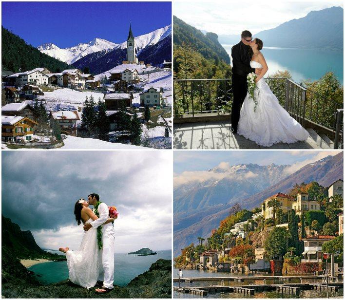 Свадебное путешествие по Швейцарии