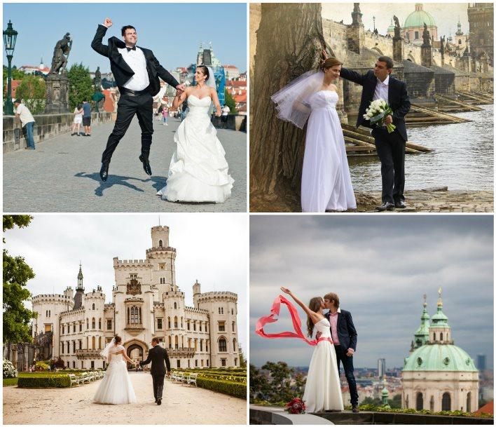 Свадебный тур по Чехии