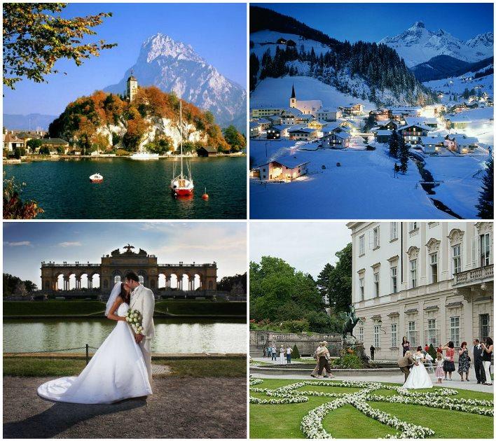 Путешествие молодых в Австрию