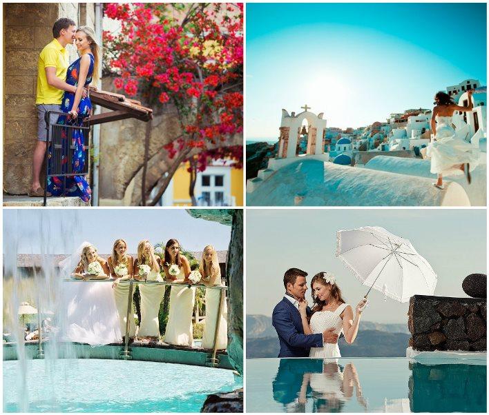 Свадебное путешествие на греческий остров Миконос