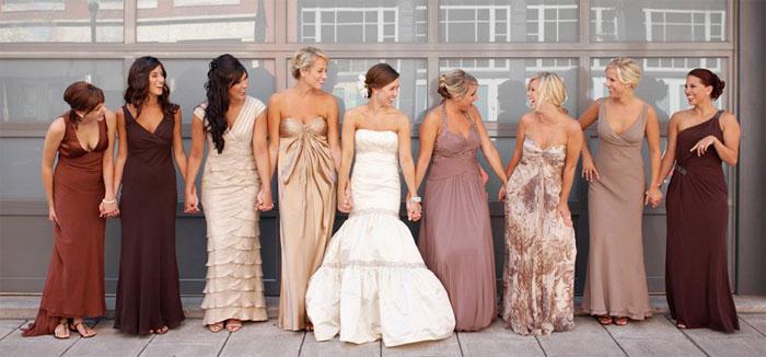Платье невесты для празднования на природе