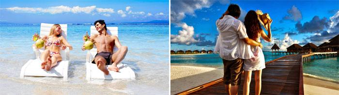 Июльский медовый месяц на море