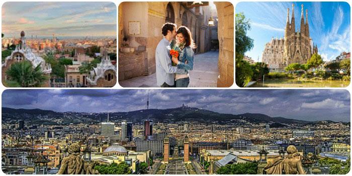 Барселона для влюбленных в июле
