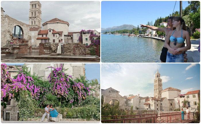 Романтический медовый месяц в Хорватии в июле