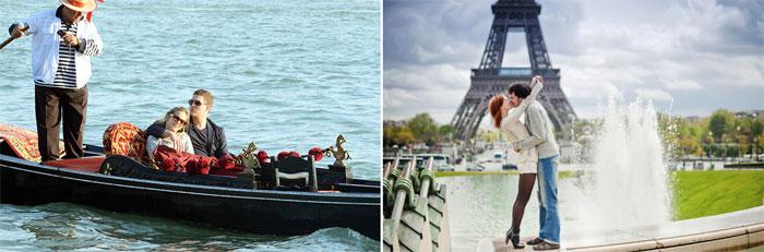 Июльский медовый месяц в Европе