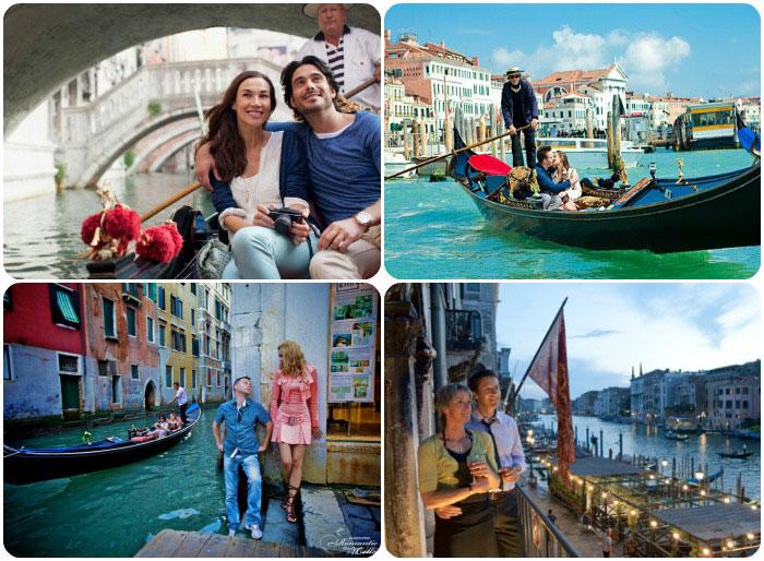 Июльский медовый месяц в Венеции