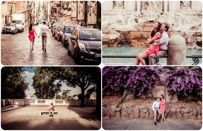 Рим для влюбленных в июле