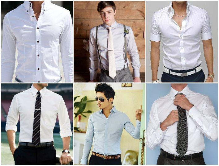 Классические рубашки на свадьбу