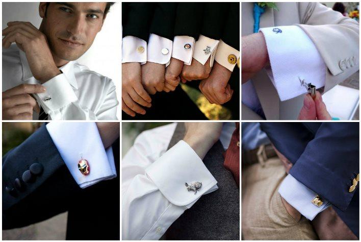 Свадебные рубашки с запонками или пуговицами
