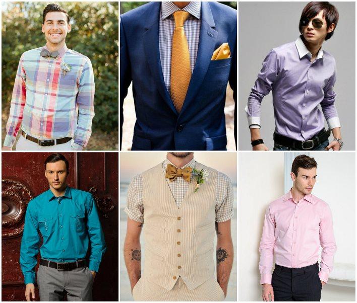 Мужчина в цветной рубашке выглядит стильно