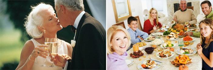 Аметистовая годовщина в кругу родных