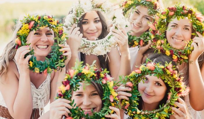 Праздник на природе для беременной невесты
