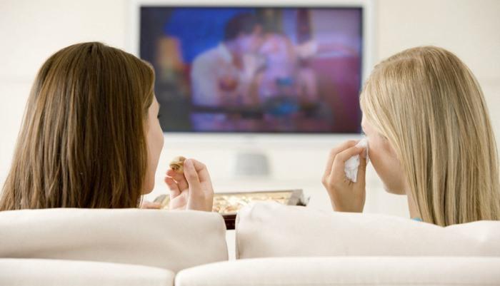 Просмотр фильмов с беременной невестой