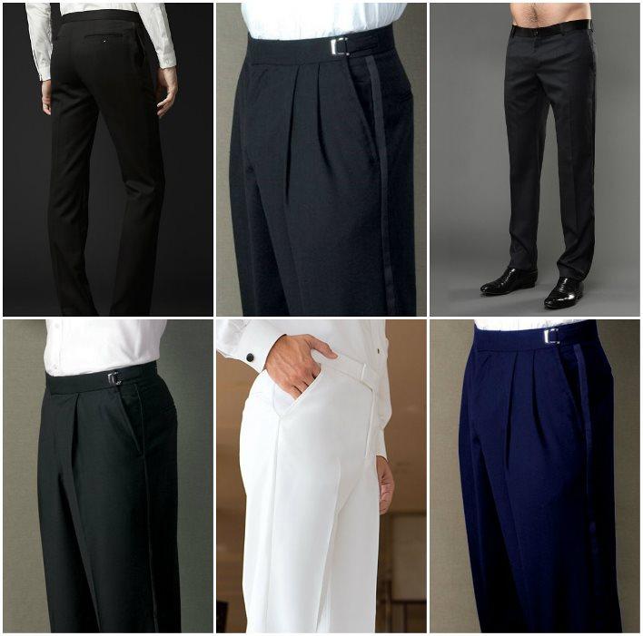 Свадебные брюки к смокингу для жениха