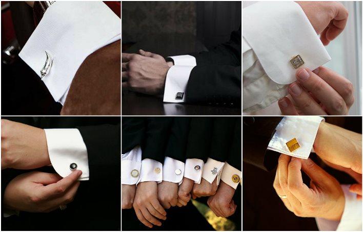 Запонки на свадьбу к смокингу