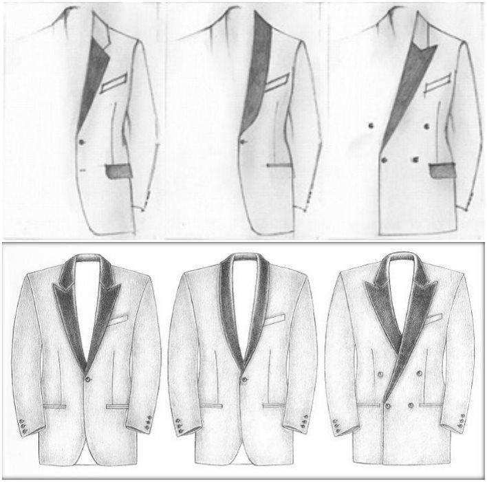 Виды свадебных пиджаков