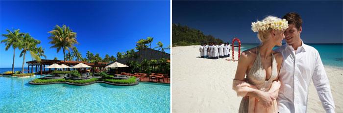 Острова Фиджи для медового месяца
